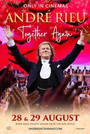Andre Rieu 2021 poster